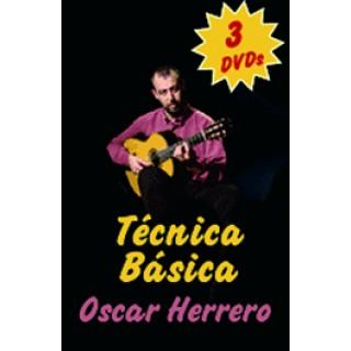 16950 Oscar Herrero - Guitarra flamenca paso a paso. Pack 1. Técnica básica