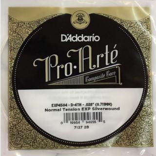 25661 Cuerda 4ª D'Addario EXP Tensión Normal Guitarra Clásica EXP4504