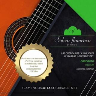 29982 Set de cuerdas guitarra Solera Flamenca Concierto tensión media