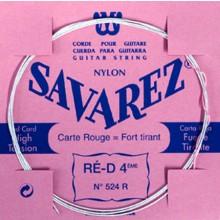 25588 Savarez Cuerda 4 Carta Roja 524R HT