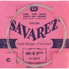 25590 Savarez Cuerda 6 Carta Roja 526R HT