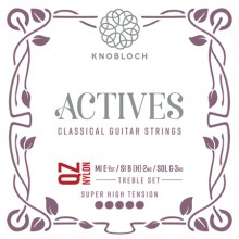 25773 Knobloch Actives QZ Nylon Treble Set Tensión Super-Fuerte