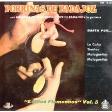 28251 Porrina de Badajoz - Estilos flamencos Vol 5