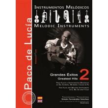 28595 Paco de Lucía - Grandes éxitos para instrumentos melódicos Vol 2