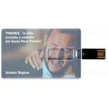 31185 Jeromo Segura - Toronjo, la vida contada y cantada del genio Paco Toronjo (TARJETA USB)