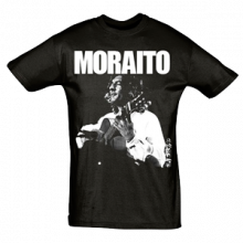 Camiseta Hombre Negra Moraito Chico