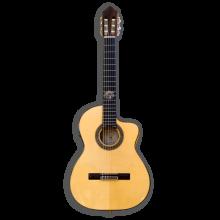 Guitarra flamenca electroacústica cutaway sicomoro 131 Azahar