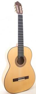 25193 Guitarra Flamenca Vicente Carrillo Alegrias Blanca