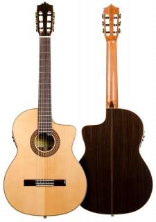 Guitarra Flamenca Martínez - Modelo MFG-RS CEF Palosanto