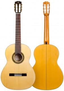Guitarra flamenca artesana Prudencio Sáez modelo 15 Bryna
