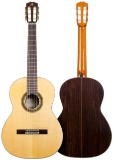 Guitarra flamenca artesana Prudencio Sáez modelo 17 palosanto