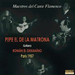 20552 Pepe de la Matrona & Román el Granaíno - Maestro del cante flamenco