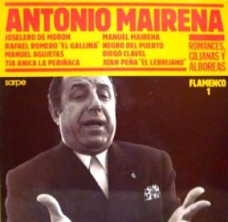 22935 Antonio Mairena... - Romances, Gilianas y Alboreas
