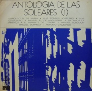 22874 Antología de las soleares 1