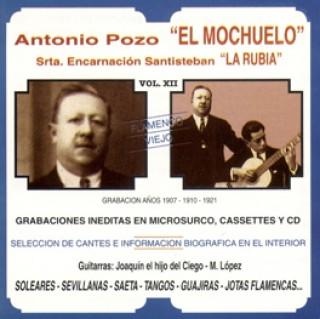 """23330 Antonio Pozo """"El Mochuelo"""" y Srta. Encarnación Santisteban """"la Rubia"""" - Flamenco viejo Vol 12"""