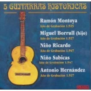 10936 5 Guitarras históricas
