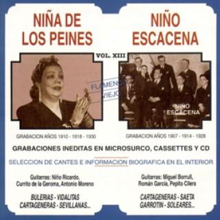 10943 Niña de los Peines y Niño Escacena - Flamenco viejo Vol 13