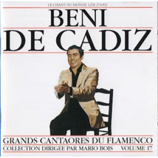 11450 Beni de Cádiz - Grandes cantaores de flamenco Vol 17