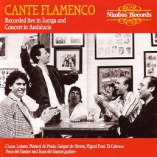 12461 Cante flamenco. Recorded live in juerga and concert in Andalucía