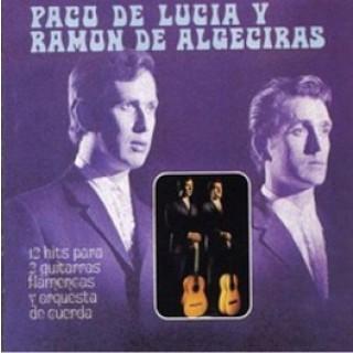 12750 Paco de Lucía 12 Hits para 2 guitarras flamencas y orquesta de cuerda