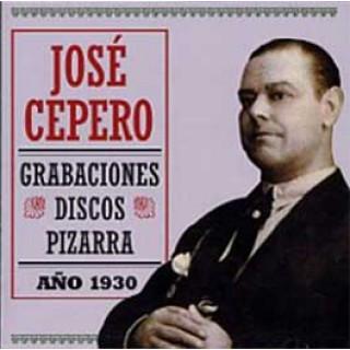 12978 José Cepero - Grabaciones Discos Pizarra. Año 1930