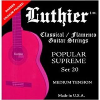 13419 Luthier Popular Supreme 20. Tensión Media