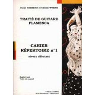 13723 Oscar Herrero & Claude Worms - Tratado de guitarra flamenca. Repertorio Nº 1