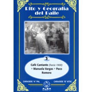 13981 Rito y geografía del baile. Vol  3 - Café Cantante - Manuela Vargas - Paco Romero
