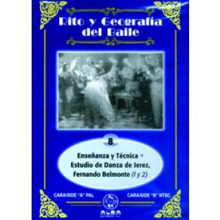 13986 Rito y geografía del baile. Vol 8 - Enseñanza y técnica - Estudio de danza de Jerez - Fernando Belmonte