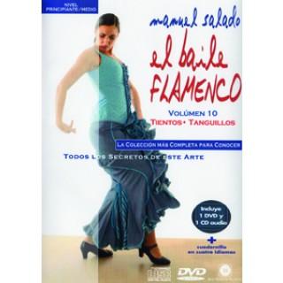 14430 Manuel Salado - El baile flamenco Vol 10 Tientos, Tanguillos
