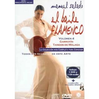 14446 Manuel Salado El baile flamenco Vol 4 Garrotín, Tangos de Málaga
