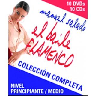 15023 Manuel Salado - El baile flamenco. Colección completa