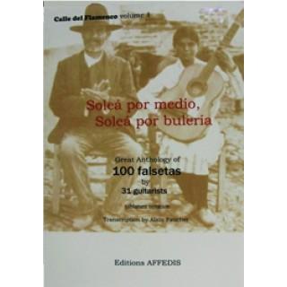 15417 Alain Faucher - Soleá por medio, Soleá por Bulería. 100 fasetas
