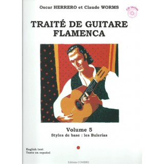 15715 Oscar Herrero & Claude Worms - Tratado de guitarra flamenca Vol 5