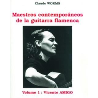 15884 Vicente Amigo - Maestros contemporáneos de la guitarra flamenca. Vol 1