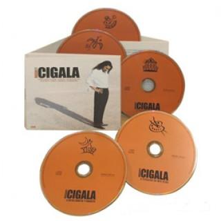 15925 Diego el Cigala - Corren tiempos de alegría, Teatro Real, Picasso en mis ojos, Entre vareta y canasta, Homenajes y colaboraciones