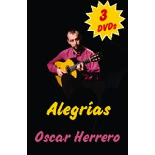 16952 Oscar Herrero - Guitarra flamenca paso a paso. Pack 3. Alegrías