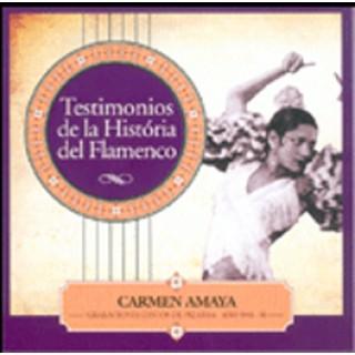 17161 Carmen Amaya - Testimonios de la historia del flamenco