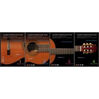 18322 Jose Manuel Montoya - Guitarra Flamenca en 48 clases. Colección completa