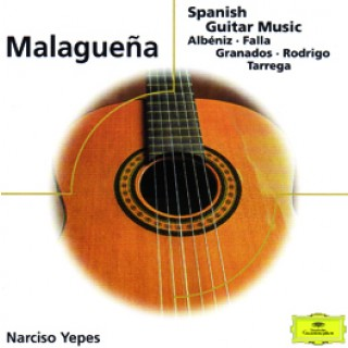 19076 Narciso Yepes Malagueña - Spanish guitar music (Albéniz - Falla - Granados - Rodrigo - Tarrega)
