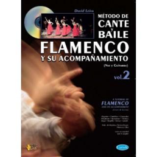 19082 David Leiva - Método de cante y baile flamenco y su acompañamiento. Voz y guitarra. Vol 2