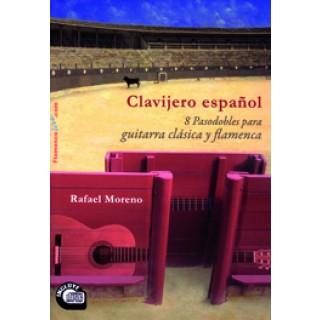 19469 Rafael Moreno - Clavijero español. 8 Pasodobles a la guitarra