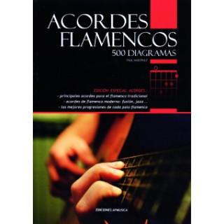 19539 Paul Martínez - Acordes flamencos. 500 Diagramas