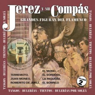 19629 Jerez y su compás Vol. 2 - Grandes figuras del flamenco