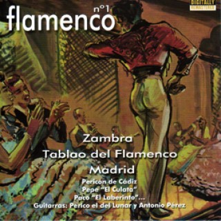 19948 Zambra tablao del flamenco Madrid - Flamenco Nº 1