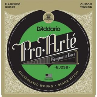 20140 D´Addario EJ25B Flamenco. Nylon Negro