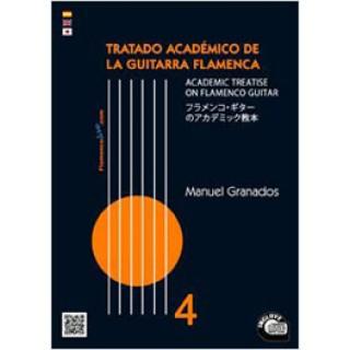 20695 Manuel Granados - Tratado académico de la guitarra flamenca Vol. 4