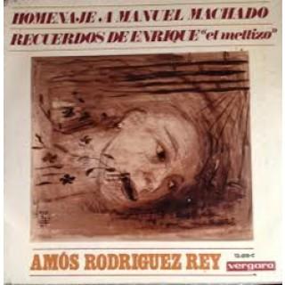 22418 Amós Rodriguez Rey - Homenaje a Manuel Machado. Recuerdos de Enrique