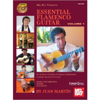 22928 Juan Martín - Essential flamenco guitar Vol. 1