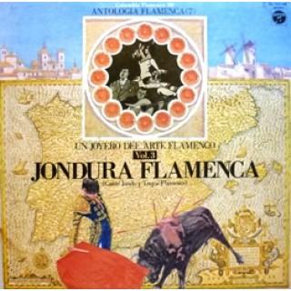 23121 Un joyero del arte flamenco Vol 3, Jondura flamenca. Cante jondo y toque flamenco
